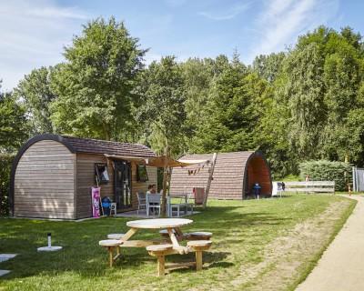 Camping de Leistert in de meivakantie